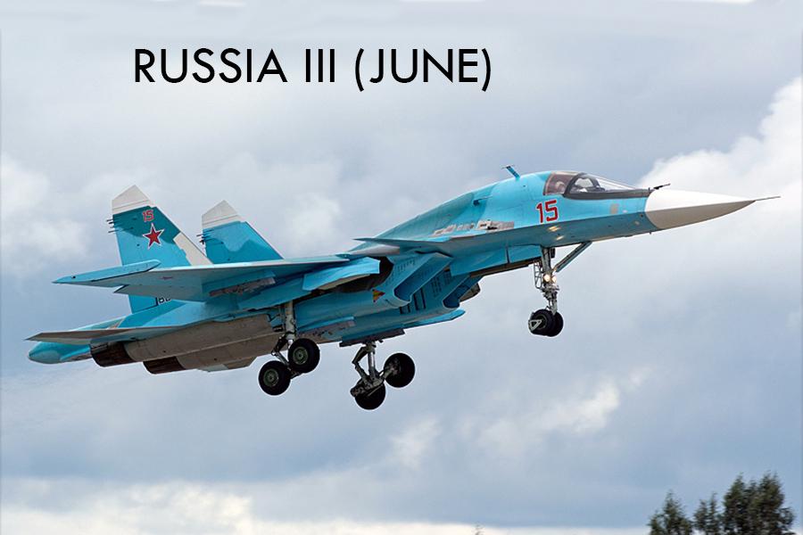 Tour - Russia/Kubinka - ARMY 2019 - June/July 2019